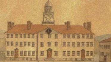 Illustration of 19th Century Dartmouth
