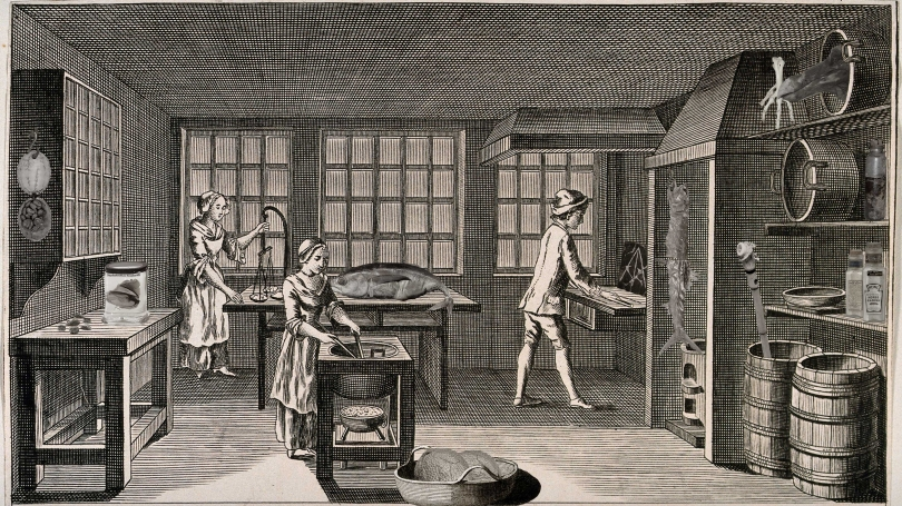 The Kitchen in the Cabinet Exhibition Image