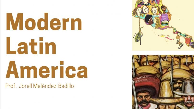 Modern Latin America Course Flyer